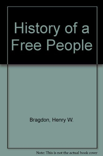 9780021153800: History of a Free People