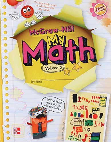 9780021160679: My Math Grade K, Vol. 2 (ELEMENTARY MATH CONNECTS)