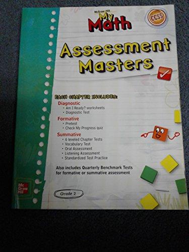 9780021161799: My Math Assessment Masters, Grade 2