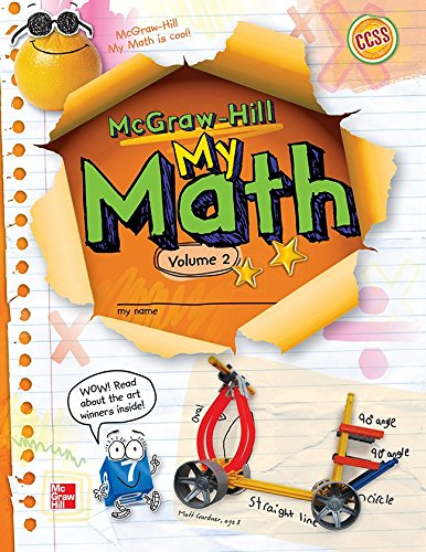 9780021161911: My Math, Vol. 2, Grade 3 (ELEMENTARY MATH CONNECTS)