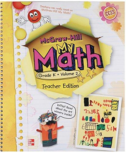9780021161980: My Math, Grade K, Vol. 2, Teacher Edition