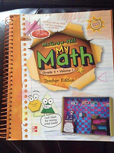 McGraw-Hill My Math, Grade 3, Vol. 1, Teacher Edition: carter