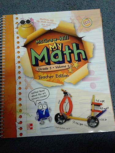 9780021162048: My Math, Grade 3, Vol. 2, Teacher Edition