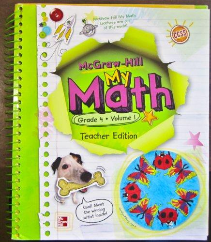 9780021162055: My Math, Vol. 1: Grade 4, Teacher Edition