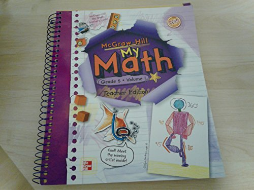 9780021162079: My Math, Vol. 1, Grade 5, Teacher Edition
