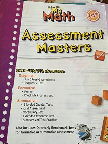 9780021162116: My Math Assessment Masters Grade 5