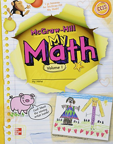 9780021170685: McGraw-Hill My Math, Grade K, Student Edition Package (volumes 1 and 2) (ELEMENTARY MATH CONNECTS)