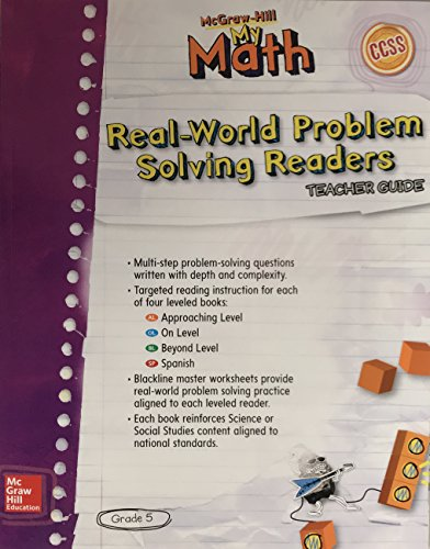 Real-World Problem Solving Readers Teachers Guide (My: McGraw-Hill