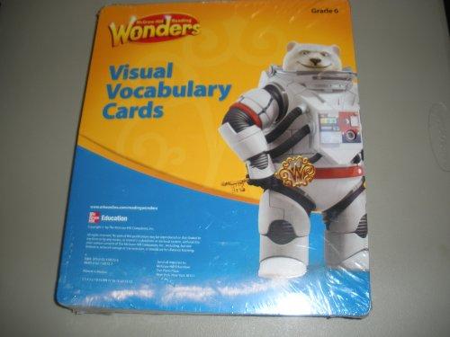 9780021185726: Reading Wonders Visual Vocabulary Cards, Grade 6