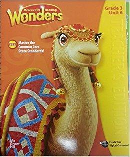 9780021186709: McGraw-Hill Reading Wonders, Grade 3 Unit 6 Teacher's Edition CCSS