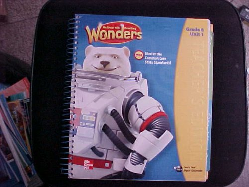 9780021187058: McGraw-Hill Reading Wonders Teacher Edition Grade 6 Unit 1 (CCSSReading/Language Arts Program)
