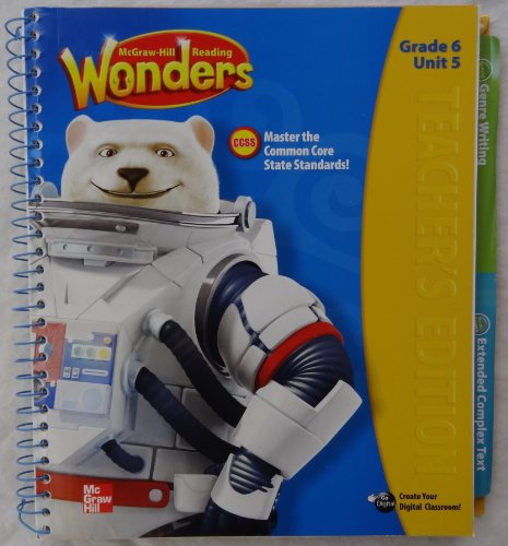 9780021187096: McGraw-Hill Reading Wonders - Grade 6 Unit 5 Teacher's Edition