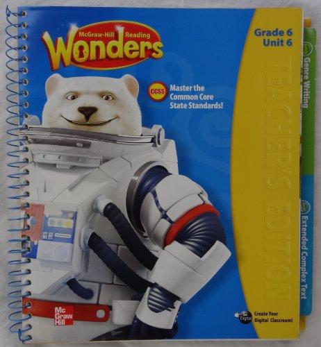 9780021187102: McGraw-Hill Reading Wonders - Grade 6 Unit 6 Teacher's Edition