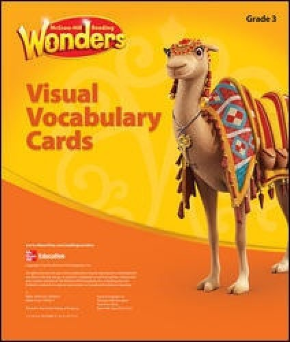 9780021187829: McGraw Hill Reading Wonders Visual Vocabulary Cards, Grade 3
