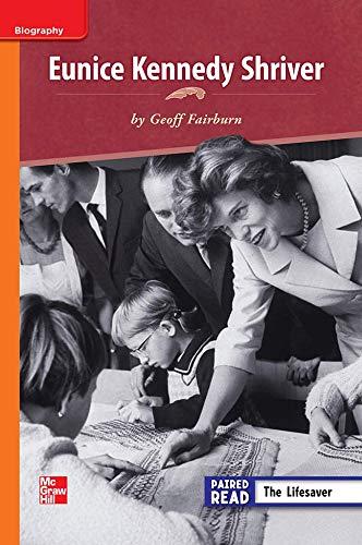 9780021188284: Eunice Kennedy Shriver ISBN 9780021188284 Mhid 0-02-118828-9 GR N Benchmark 30 Lexile 600