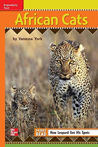9780021188338: African Cats ISBN 9780021188338 Mhid 0-02-118833-5 GR N Benchmark 30 Lexile 580