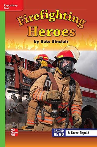 Firefighting Heroes ISBN 9780021189007 Mhid 0-02-118900-5 GR: Kate Sinclair