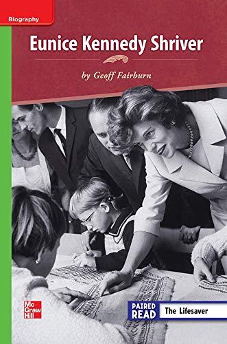 9780021189014: Eunice Kennedy Shriver ISBN 9780021189014 Mhid 0-02-118901-3 GR R Benchmark 40 Lexile 860