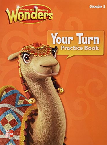 9780021189991: McGraw-Hill Reading Wonders Grade 3 (Your Turn Practice Book)