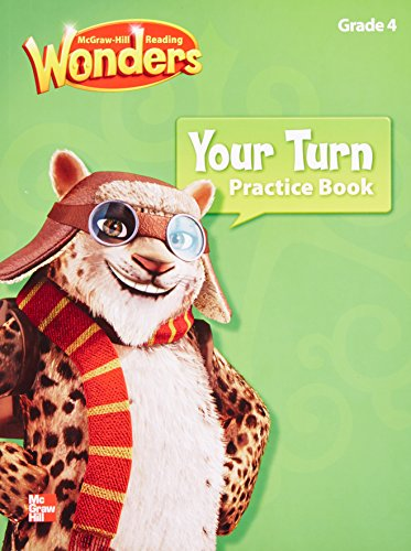 9780021190577: Mcgraw Hill Reading: Wonders, Your Turn Practice Book, Grade 4