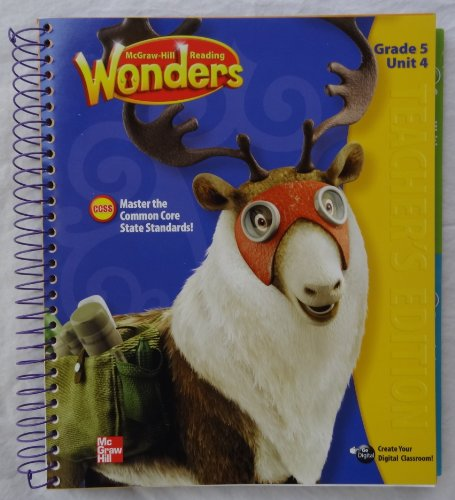 9780021190621: McGraw-Hill Reading Wonders - Grade 5 Unit 4 Teacher's Edition