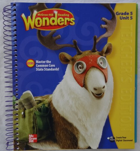 9780021190638: McGraw-Hill Reading Wonders - Grade 5 Unit 5 Teacher's Edition