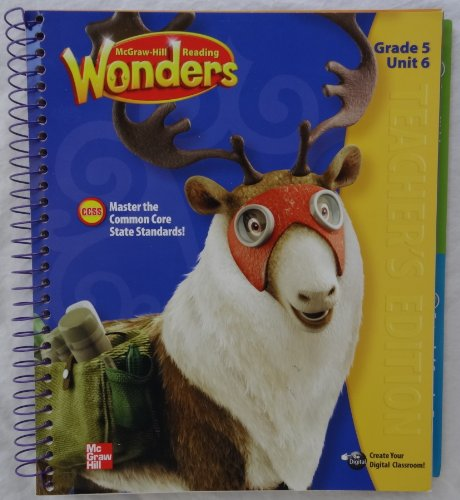 9780021190645: McGraw-Hill Reading Wonders - Grade 5 Unit 6 Teacher's Edition