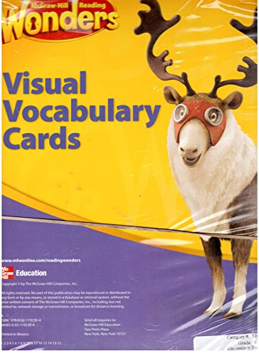 9780021192304: Mcgraw-hill Reading Wonders Visual Vocabulary Cards Grade 5