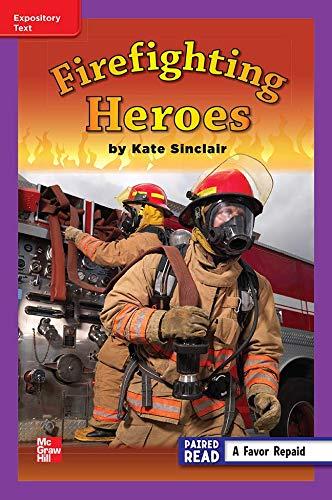 Firefighting Heroes ISBN 9780021192885 Mhid 0-02-119288-x GR: Kate Sinclair