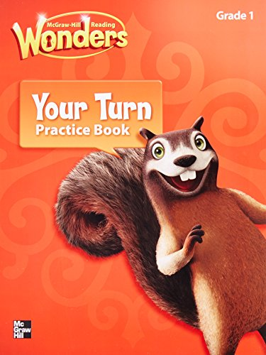 9780021195329: Reading Wonders, Grade 1, Your Turn Practice Book (ELEMENTARY CORE READING)