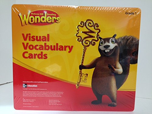 9780021195374: READING WONDERS GR.1 VISUAL VOCABULARY C