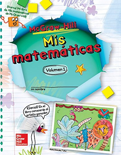 9780021233953: McGraw-Hill My Math, Grade 2, Spanish Student Edition, Volume 1 (ELEMENTARY MATH CONNECTS) (Spanish Edition)
