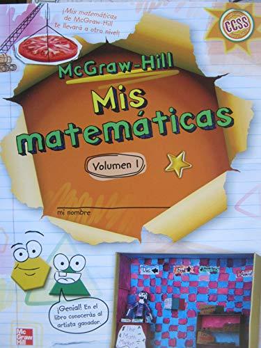 9780021233977: Mis Matematicas McGraw Hill My Math Grade 3 Volume 1 Spanish Student Edition