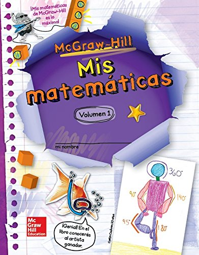 9780021234011: McGraw-Hill My Math, Grade 5, Spanish Student Edition, Volume 1 (ELEMENTARY MATH CONNECTS) (Spanish Edition)