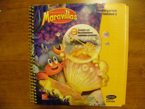 9780021257836: McGraw-Hill Lectural Maravillas, Spanish program parallel to Reading Wonders. Level K Unit 2