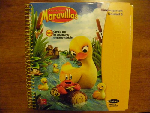 9780021258116: McGraw-Hill Lectural Maravillas, Spanish program parallel to Reading Wonders. Level K Unit 8