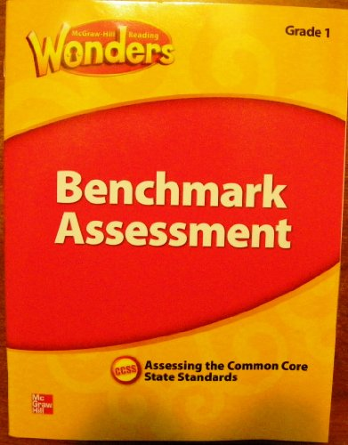 9780021270828: McGraw Hill Reading Wonders Benchmark Assessment , Grade 1