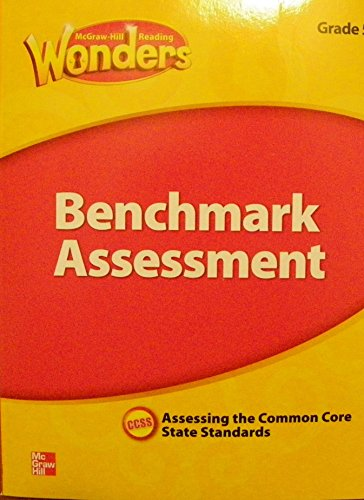 9780021270835: McGraw Hill Reading Wonders, Benchmark Assessment, Grade 2, Assessing the Common Core State Standards, CCSS
