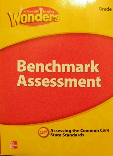 9780021270859: McGraw Hill Reading Wonders Benchmark Assessment Grade 4 Assessing the Common Core State Standards