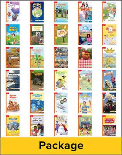 9780021274741: Reading Wonders, Grade 1, Leveled Reader Package 1 Of 30 Approaching (ELEMENTARY CORE READING)