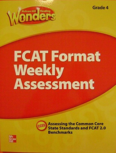 9780021275557: FCAT Format Weekly Assessments Grade 4