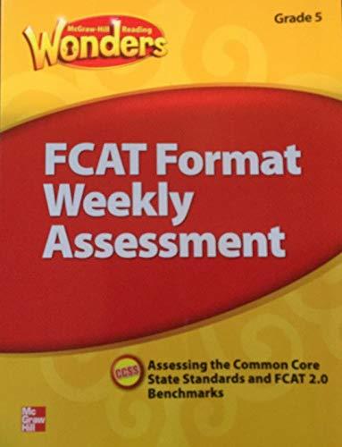 9780021275564: FCAT Format Weekly Assessment Grade 5