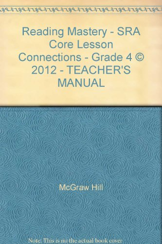 9780021282630: Reading Mastery Signature Edition Grade 4, Core Lesson Connections (CORE CONNECTIONS KIT)