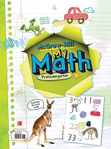 9780021289394: MY MATH STUDENT EDITION PRE-K - 2013