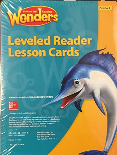 Leveled Reader Lesson Cards - McGraw-Hill Reading Wonders, Grade 2