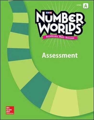 9780021294237: Number Worlds, Prevention Level A Assessment