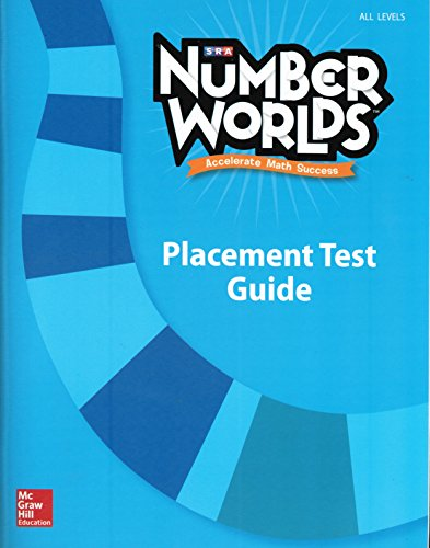 9780021294268: SRA Number Worlds: Placement Test Guide