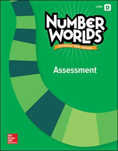 9780021295340: Number Worlds, Level D Assessment