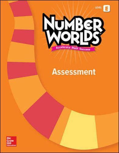9780021295357: Number Worlds Level E, Assessment