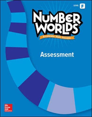 9780021295364: Number Worlds, Level F Assessment